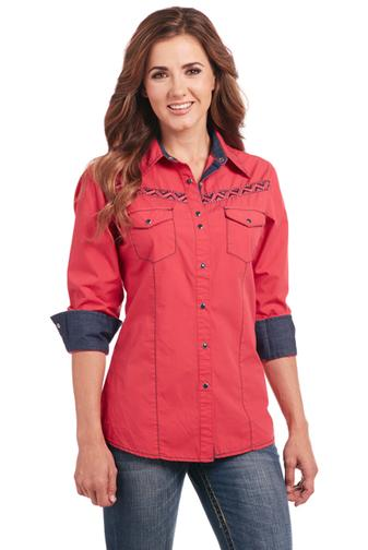 Cowgirl Up Long Sleeved Shirt (CG80401)