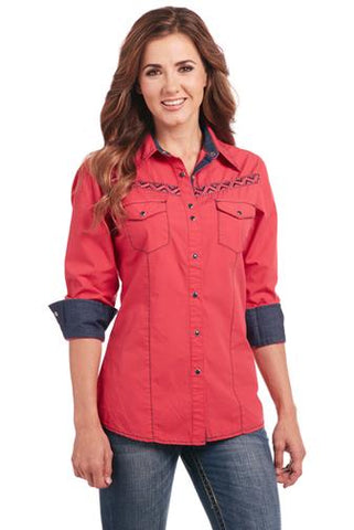 Cowgirl Up Long Sleeved Shirt (CG80601)