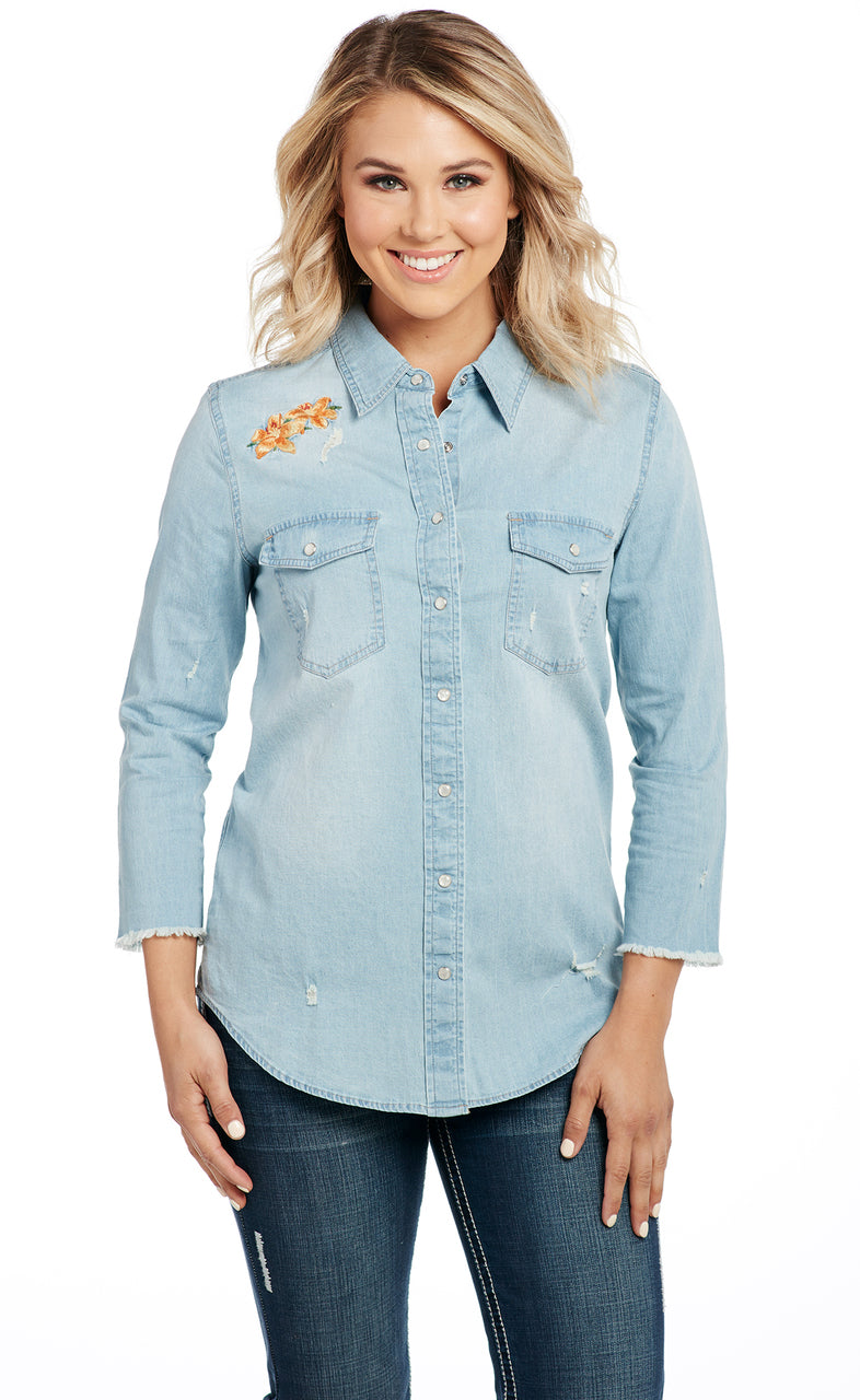 Cowgirl Up Long Sleeved Shirt (CG90108)