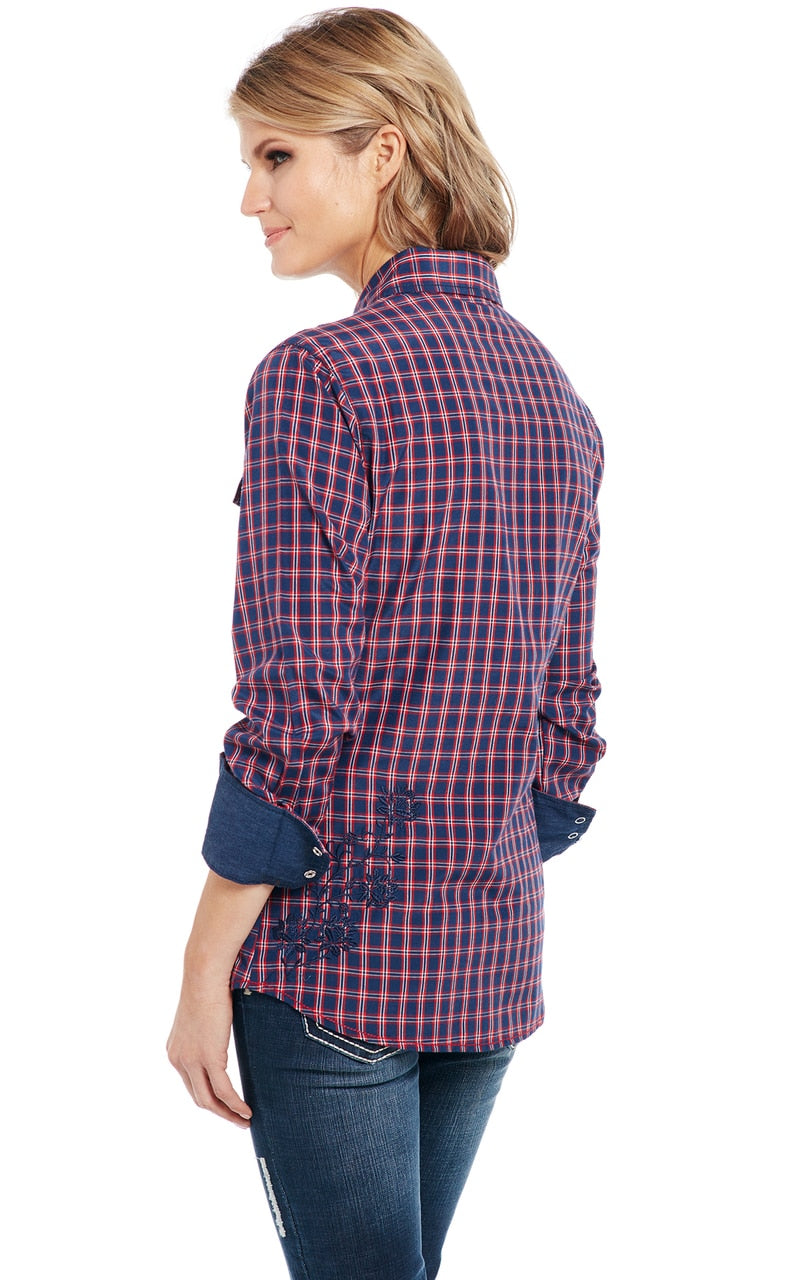 Cowgirl Up Long Sleeved Shirt (CG90701)