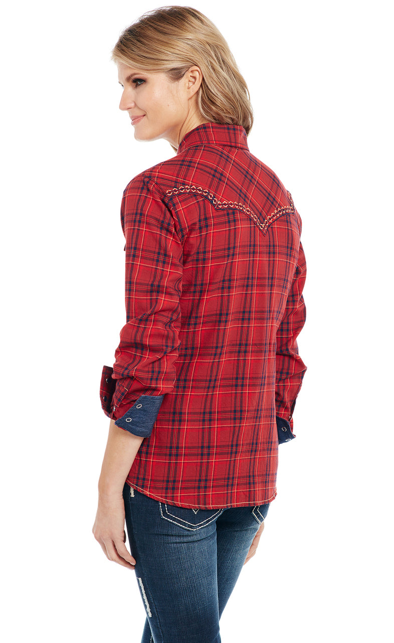 Cowgirl Up Long Sleeved Shirt (CG90801)