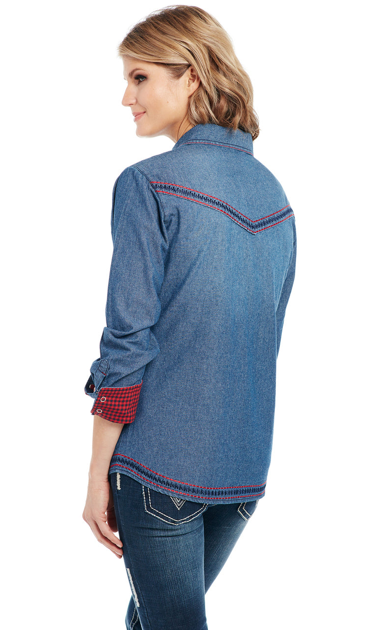 Cowgirl Up Long Sleeved Shirt (CG90803)