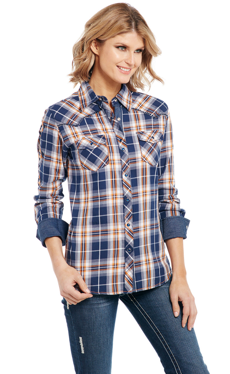 Cowgirl Up Long Sleeved Shirt (CG91001)