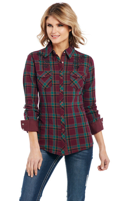Cowgirl Up Long Sleeved Shirt (CG91101)