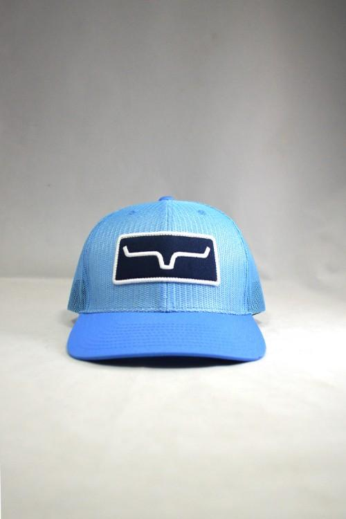 Kimes Ranch All Mesh Trucker Cap - Cool Blue