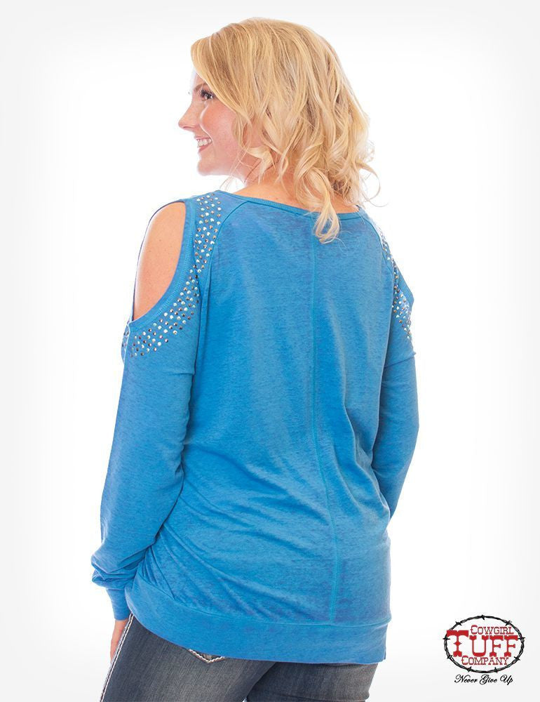 Cowgirl Tuff Long Sleeved Tee (F00312)