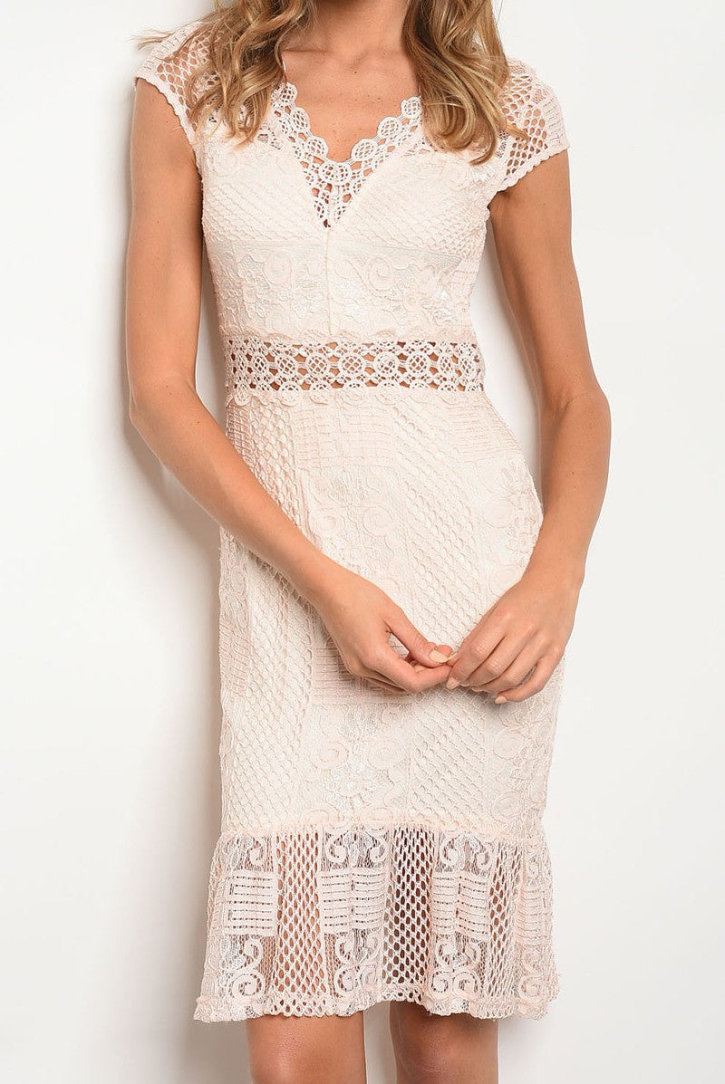 Tahlia Dress - Blush