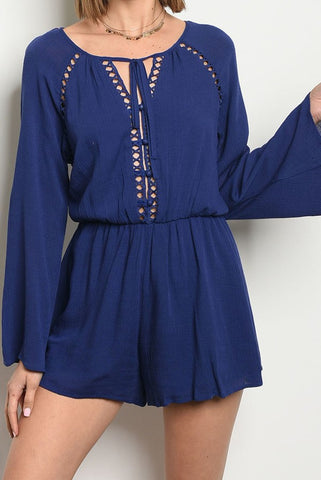 Desert Playsuit - Blue