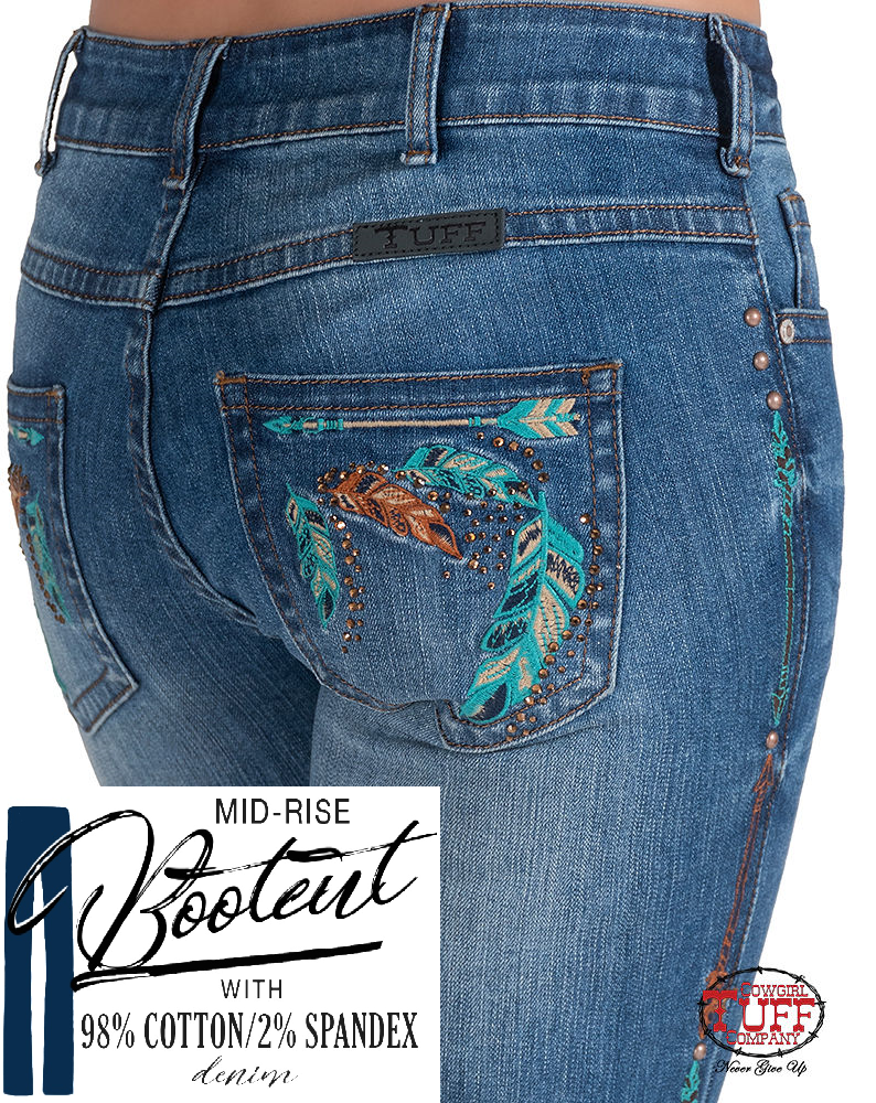 Cowgirl Tuff Jeans - Fancy Fly