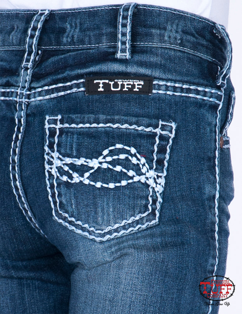 Girl's Cowgirl Tuff Jeans - Edgy