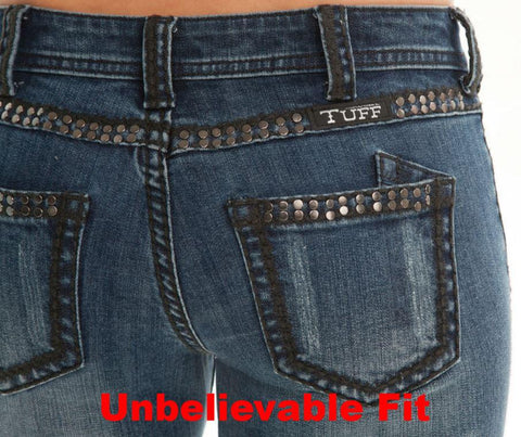 Cowgirl Tuff Jeans - Midnight Jewel