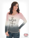 Cowgirl Tuff Long Sleeved Tee (H00536)