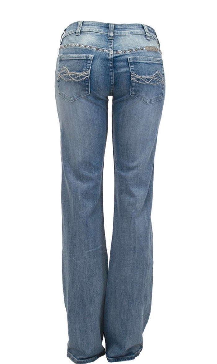 Cowgirl Tuff Jeans - Studded To The Max