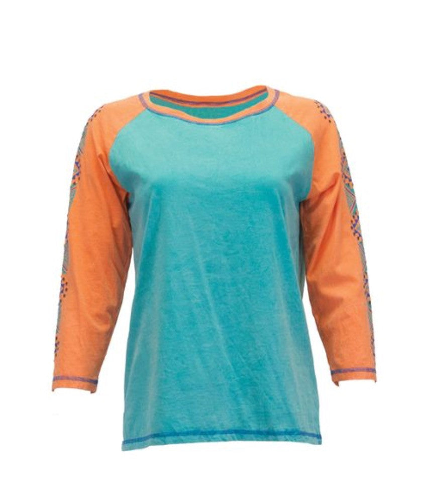 Cowgirl Tuff Long Sleeved Tee (F00316)