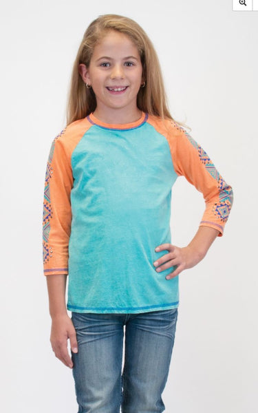 Girl's Cowgirl Tuff Long Sleeved Tee - F00325
