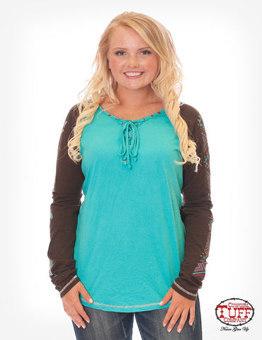 Cowgirl Tuff Long Sleeved Tee (F00348)