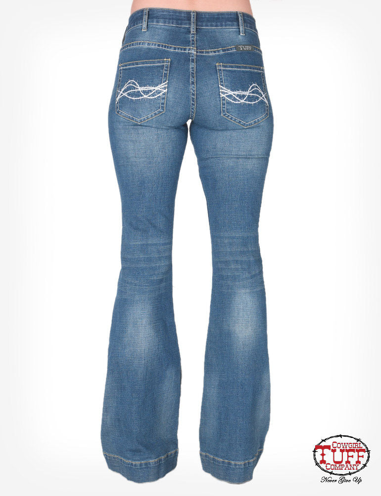Cowgirl Tuff Jeans - DFMI Trouser