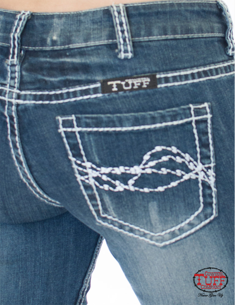 Cowgirl Tuff Jeans - Edgy