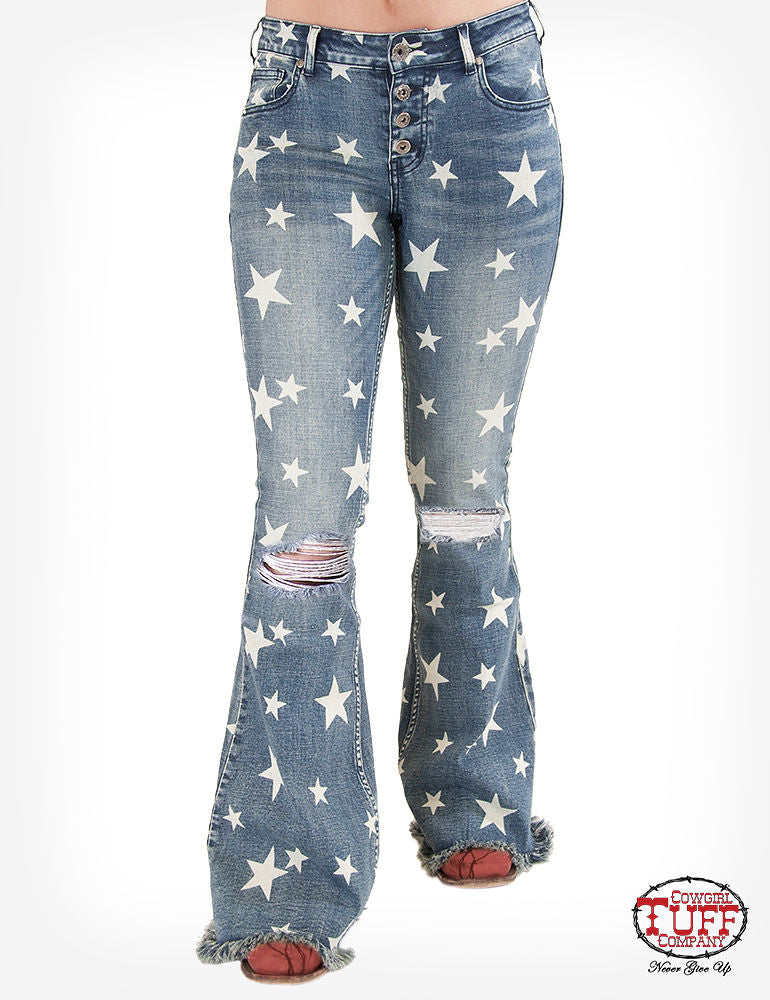 Cowgirl Tuff Jeans - Hollywood Jean