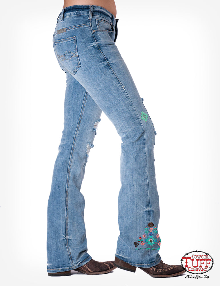 Cowgirl Tuff Jeans - Running Wild
