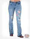 Kan Can - Medium Wash Skinny KC7095D