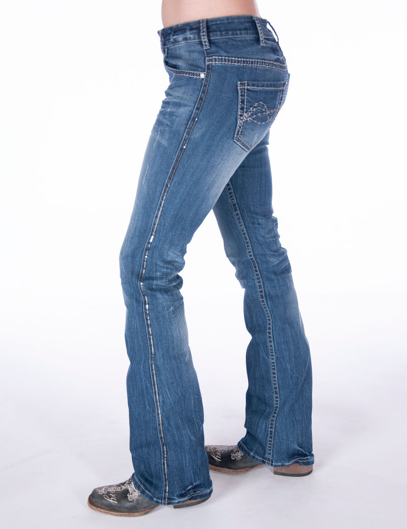 Cowgirl Tuff Jeans - Touch of Class