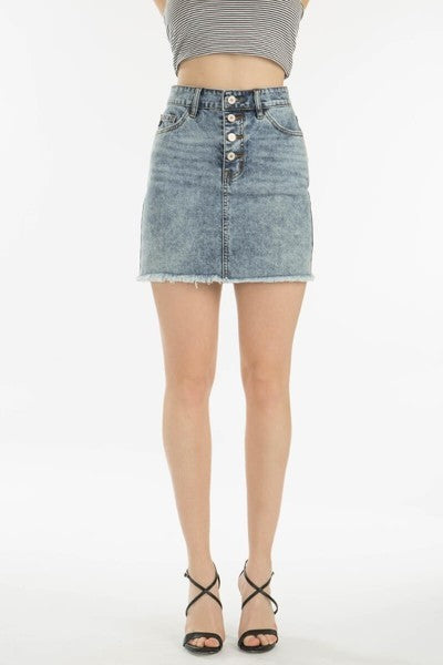 Kan Can Denim Skirt - KC5190M