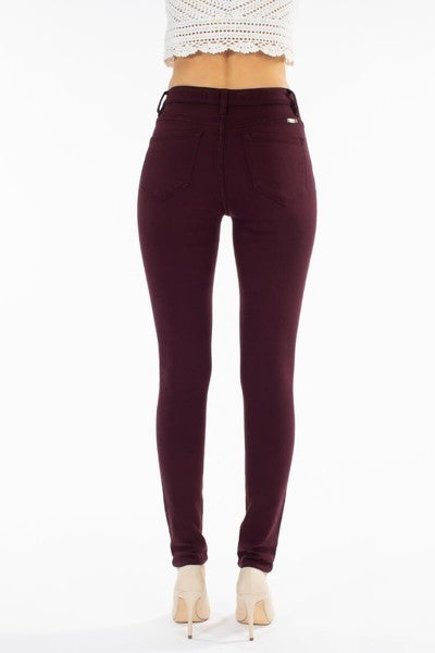 Kan Can - Burgundy Skinny KC7294B