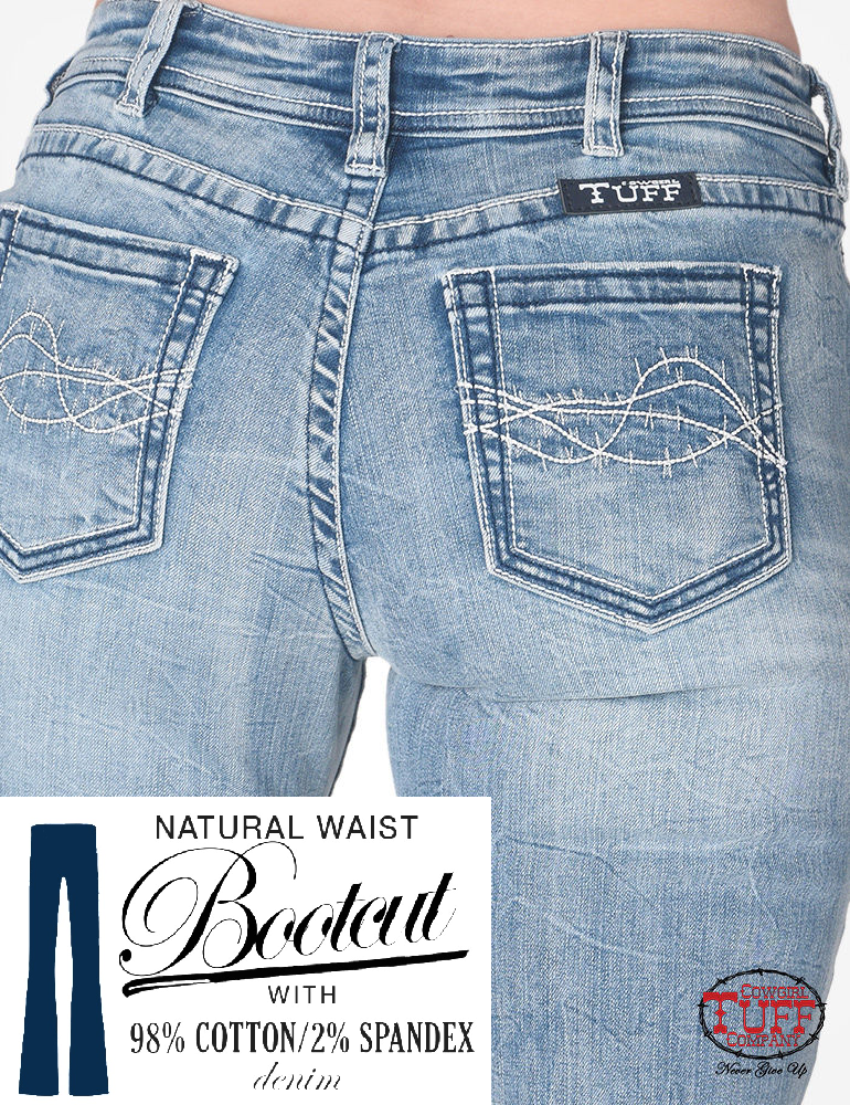 Cowgirl Tuff Jeans - Lighten Up