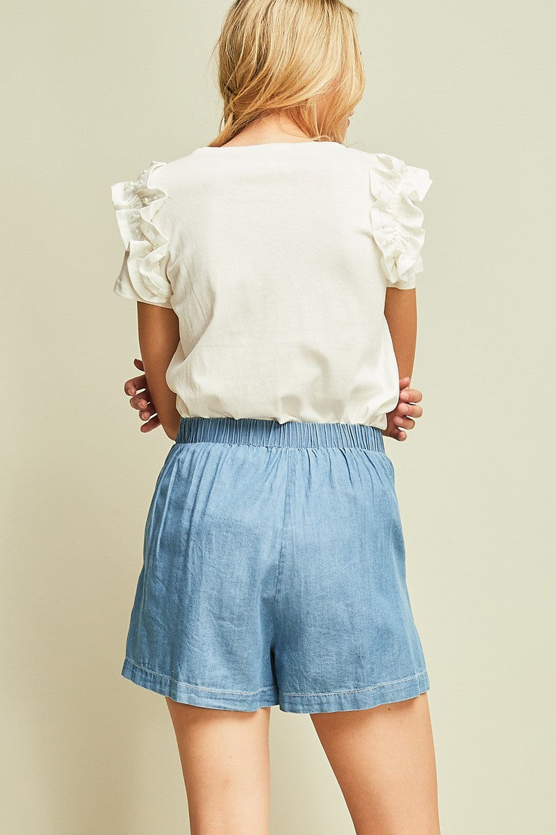 Londyn Shorts - Denim