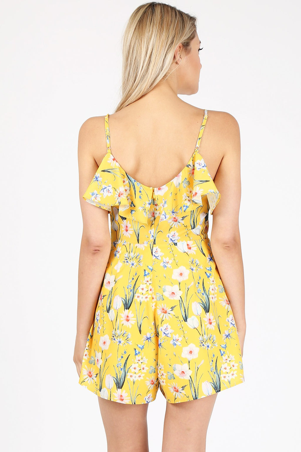 Belle Playsuit - Yellow