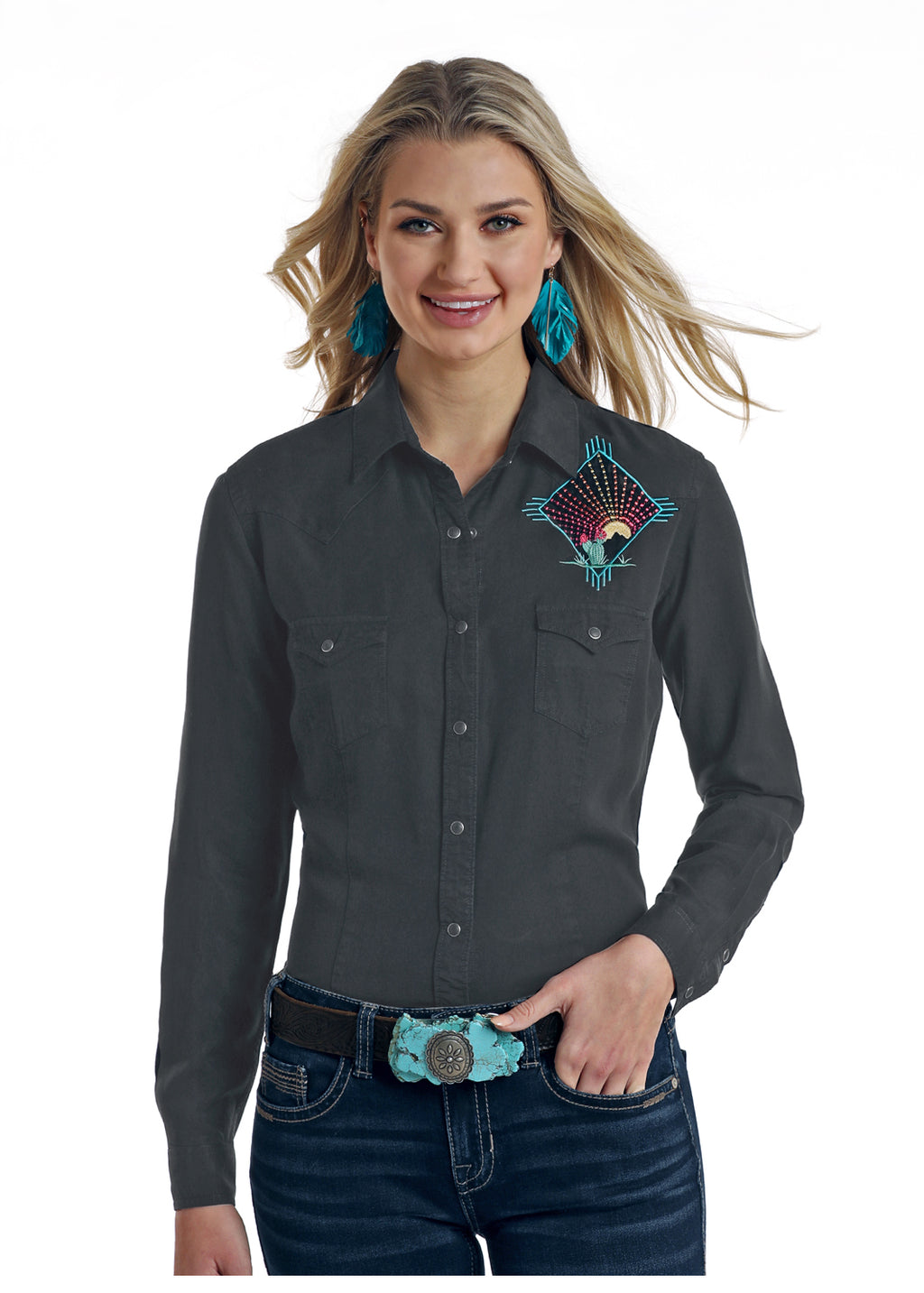 Panhandle Long Sleeved Shirt (R4S6387)