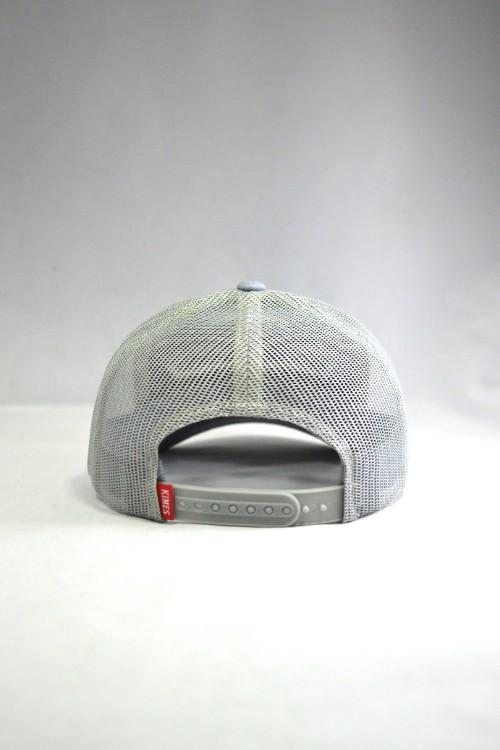 Kimes Ranch Weekly Trucker Cap - Grey/Grey