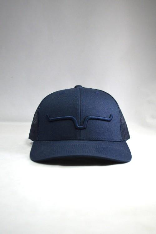 Kimes Ranch Weekly Trucker Cap - Navy/Navy