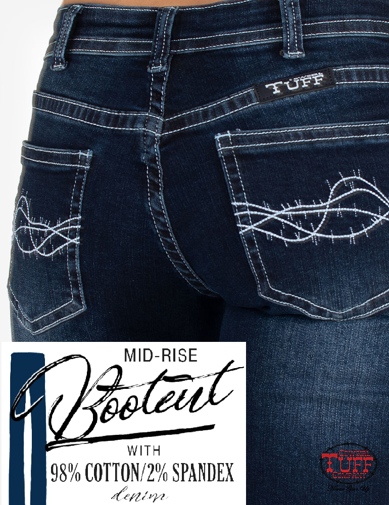 Cowgirl Tuff Jeans - Take A Dip