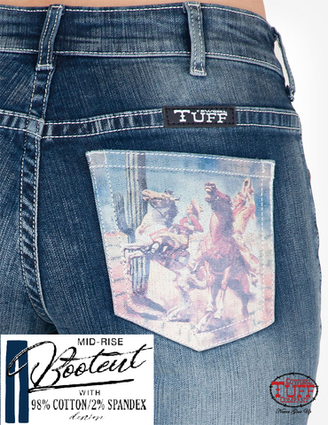 Cowgirl Tuff Jeans - Take Flight