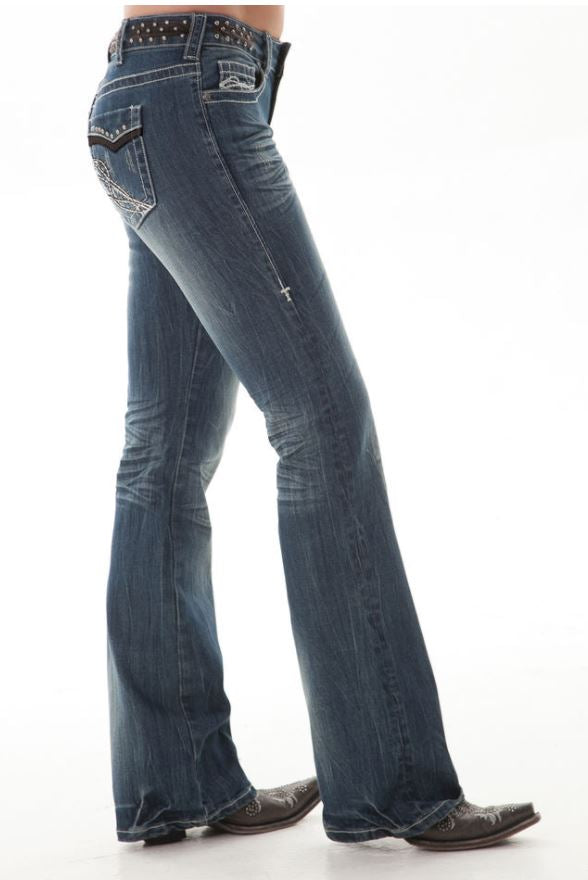 Cowgirl Tuff Jeans - Vintage Black