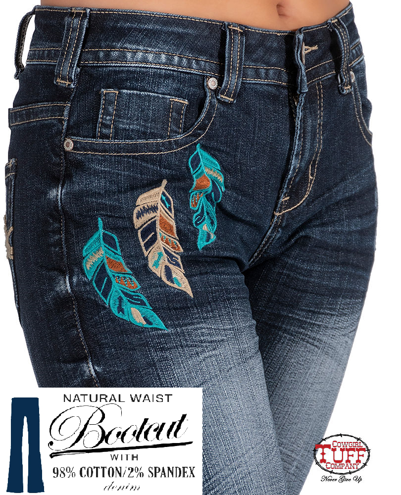 Cowgirl Tuff Jeans - Warrior