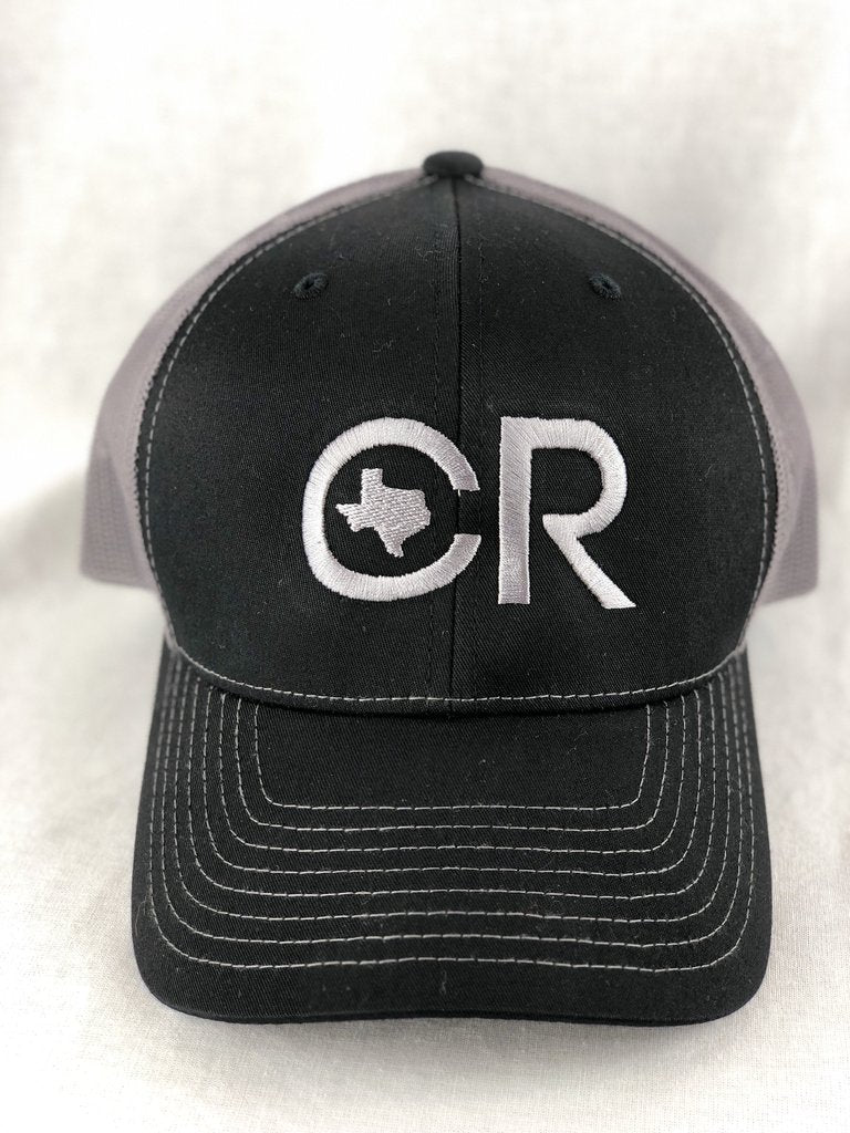 CR Ranchwear Trucker Cap - Black and Grey