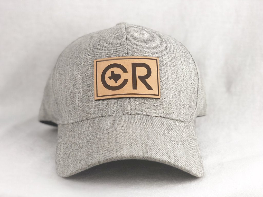 CR RanchWear Cap - Grey Flex Fit