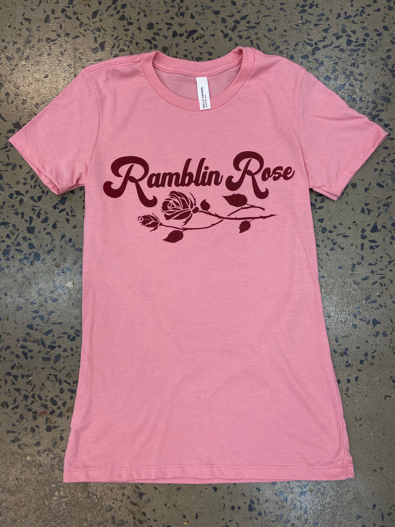 Ramblin Rose Tee - Pink