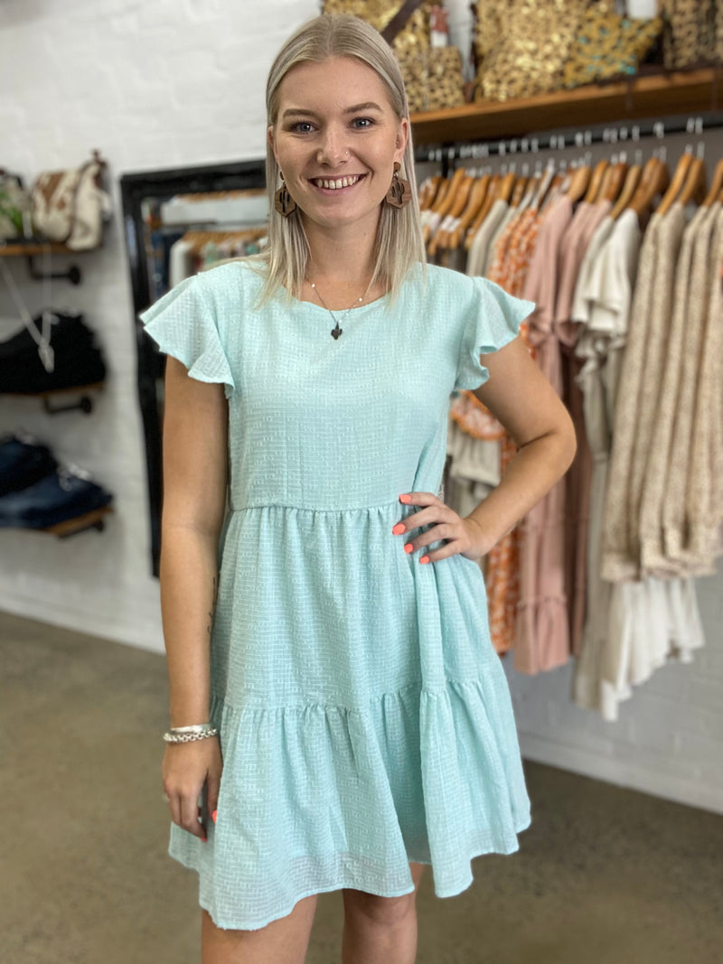 Mary-Anne Dress - Mint