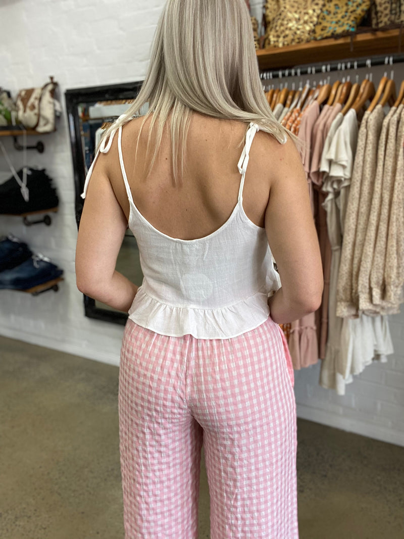 Evelyn Pants - Pink