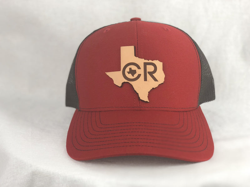 CR Ranchwear Trucker Cap - Red and Black