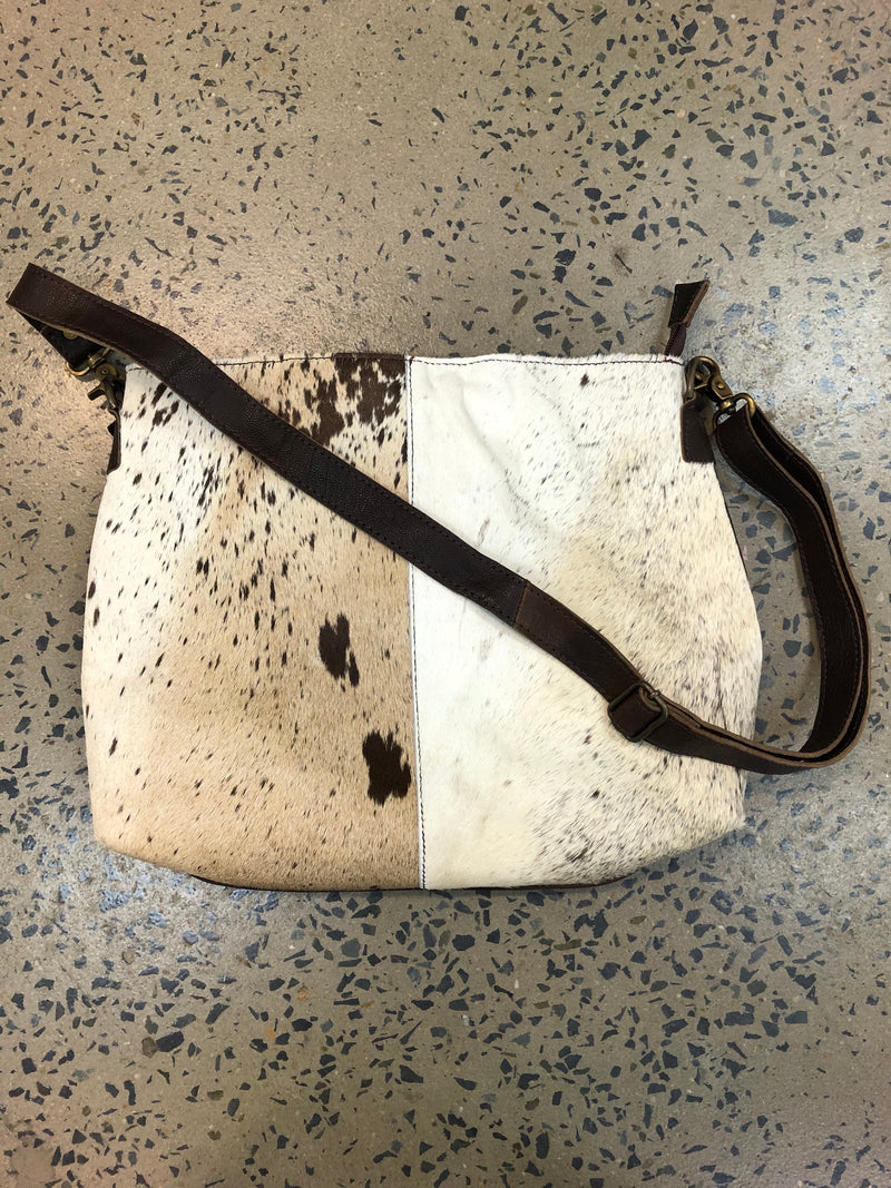 Charlie - Cowhide and Leather Handbag