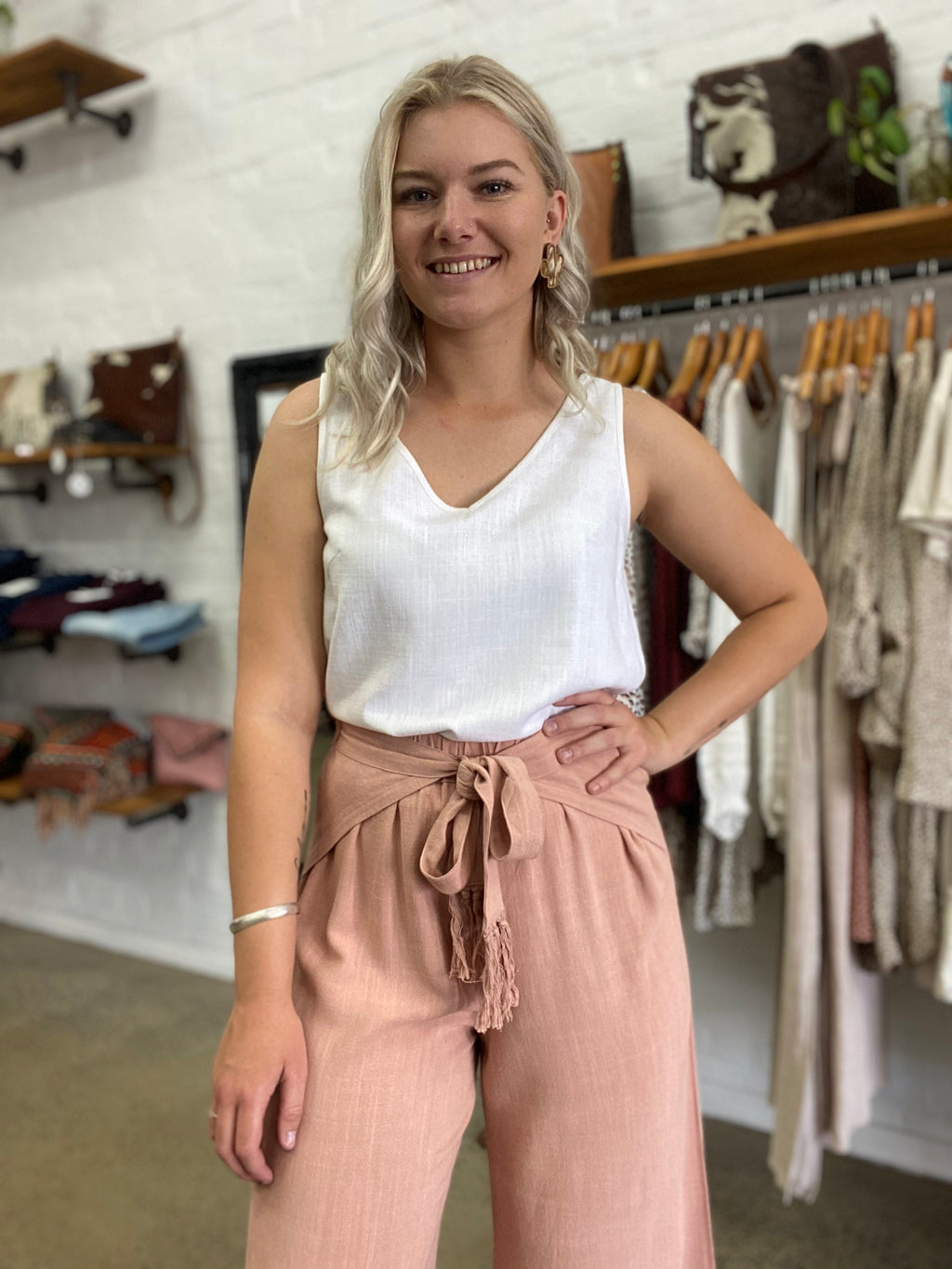 Pixie Pants - Rose