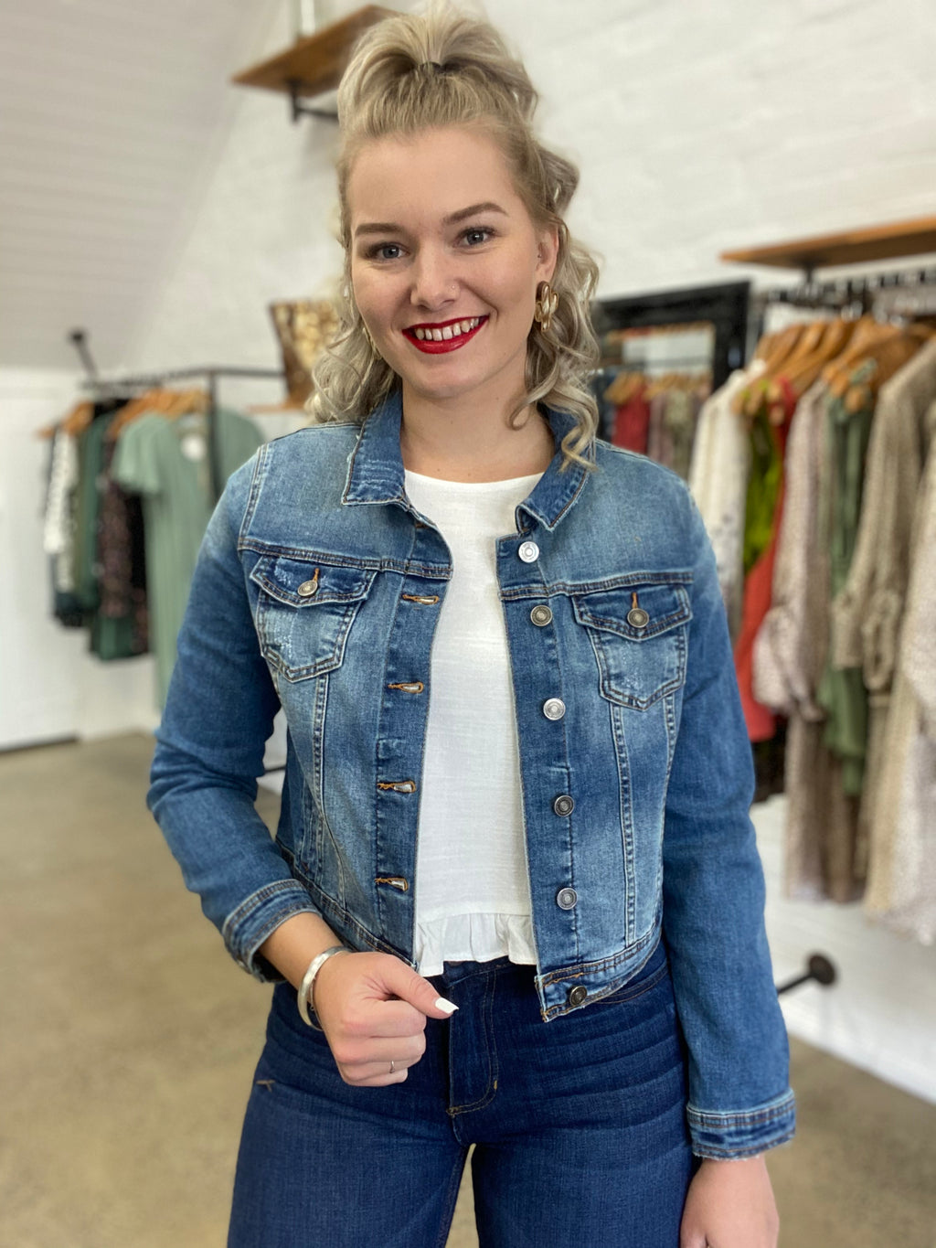 Carmen Jacket - Denim