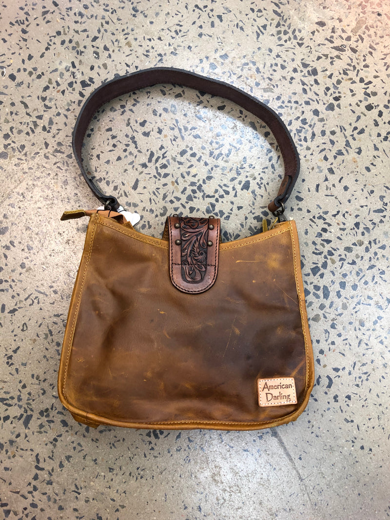 Vanity - Cowhide and Leather Handbag