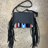 Sandy - Saddle Blanket and Leather Crossbody/Clutch