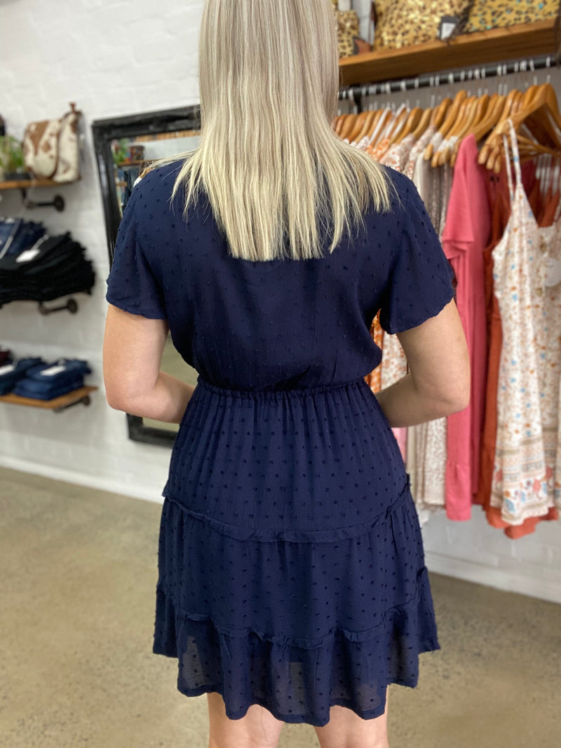 Penny Dress - Navy